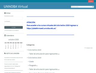 virtual.unnoba.edu.ar screenshot