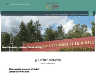 virtual.utm.mx screenshot