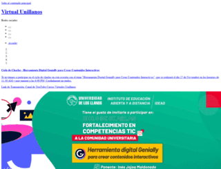 virtual2.unillanos.edu.co screenshot