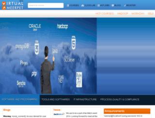 virtualameerpet.com screenshot