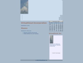 virtualcloudinc.com screenshot