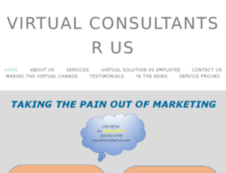 virtualconsultantsrus.com screenshot