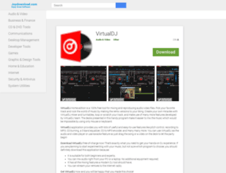 virtualdj.joydownload.com screenshot