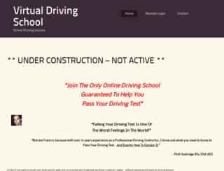 virtualdrivingschool.co.uk screenshot
