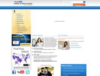 virtualedu.org screenshot