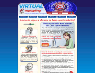 virtualemarketing.com.br screenshot