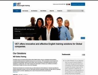 virtualenglishtraining.com screenshot