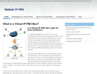virtualippbx.co.za screenshot