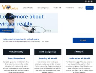 virtualityoculus.com screenshot