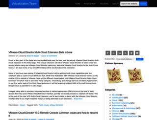 virtualizationteam.com screenshot