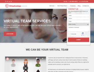 virtuallookup.com screenshot