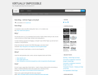 virtuallyimpossible.co.uk screenshot