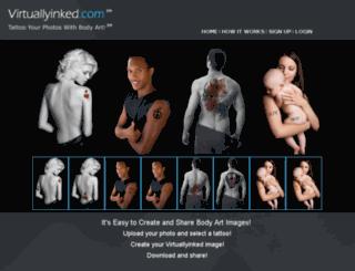 virtuallyinked.com screenshot