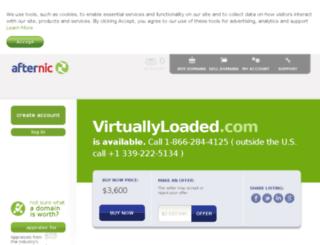 virtuallyloaded.com screenshot