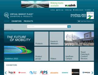 virtualmarket.innotrans.com screenshot