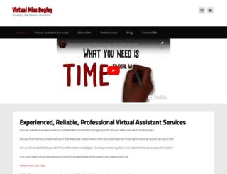 virtualmissbegley.com screenshot