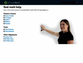 virtualnerd.com screenshot