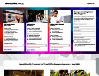 virtualoffice.com.sg screenshot