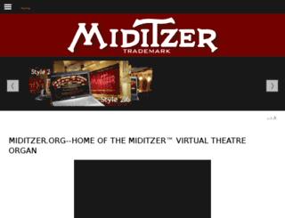 virtualorgan.com screenshot
