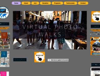 virtualphotowalks.org screenshot