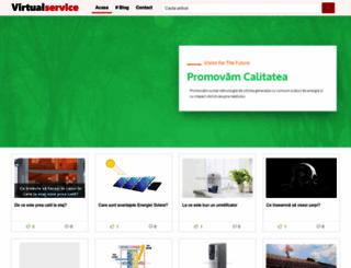 virtualservice.ro screenshot