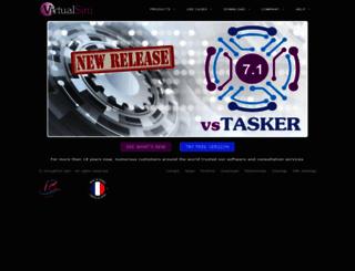 virtualsim.com screenshot