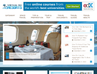 virtualskiresorts.com screenshot