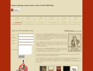 virtualsmokingzone.com screenshot