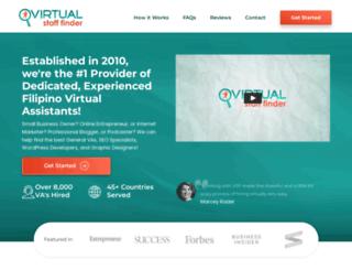 virtualstafffinder.ph screenshot