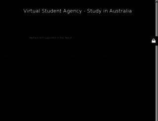 virtualstudentagency.com screenshot