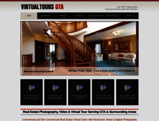 virtualtoursgta.com screenshot