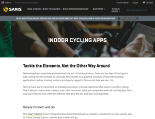 virtualtraining.cycleops.com screenshot