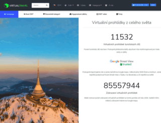 virtualtravel.cz screenshot