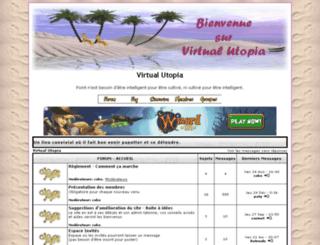 virtualutopia.nice-forums.net screenshot