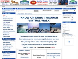 virtualwalk.ca screenshot