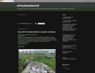 virtualwallworld.blogspot.com screenshot