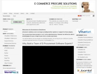 virtuemart-solutions.com screenshot