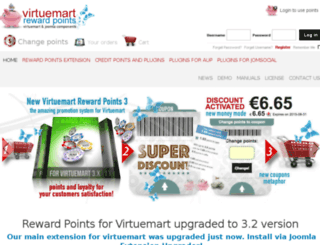 virtuemartrewardspoints.com screenshot