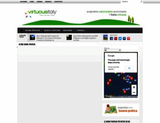 virtuousitaly.it screenshot