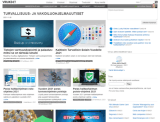 virukset.fi screenshot