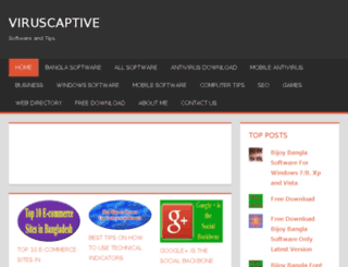 viruscaptive.com screenshot