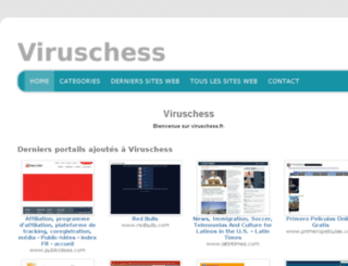 viruschess.fr screenshot