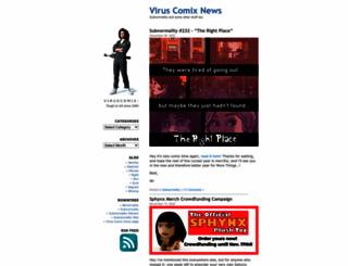viruscomix.wordpress.com screenshot