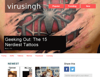 virusingh.com screenshot