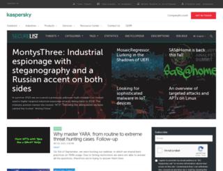 viruslistjp.com screenshot