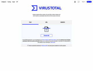 virustotal.com screenshot