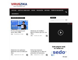 viruszika.com screenshot
