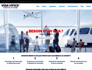 visa-office.fr screenshot
