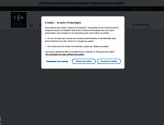 visa.carrefour.eu screenshot