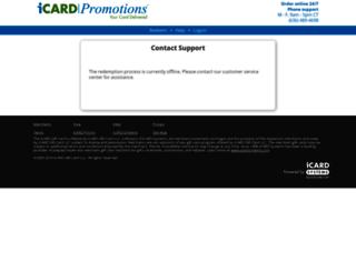 visa.icardgiftcard.com screenshot